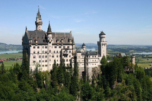 Castillo de Neuschwanstein, en Schwangau, Baviera (Alemania)