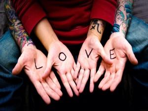 Amor en las palmas de las manos