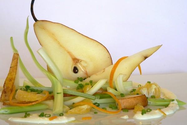 Ensalada con pera
