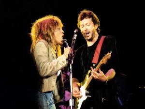 Tina Turner y Eric Clapton