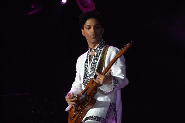 Prince en concierto