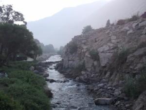 Un pequeño río