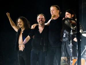 Metallica en directo en el O2 Arena