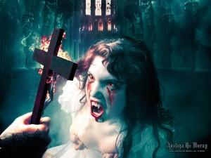 Postal: Exorcismo vampírico