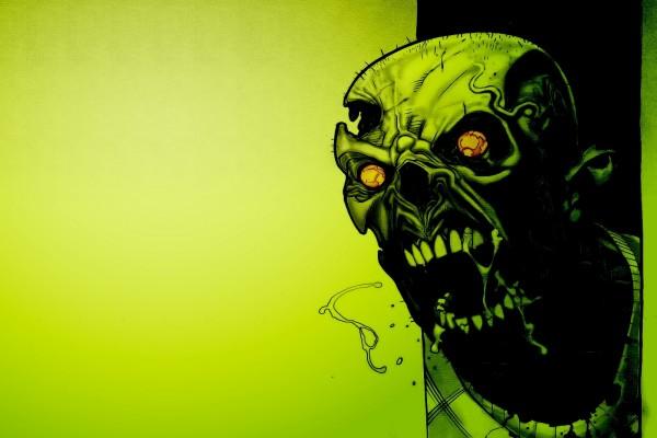 Scary Skull Zombie