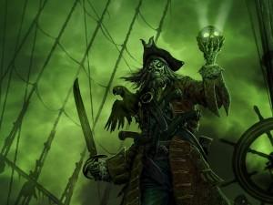 Postal: Pirata tenebroso