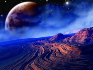 Postal: Geología extraterrestre