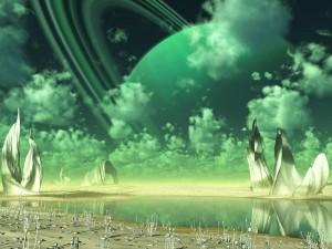 Atmósfera verde