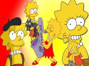 Postal: Lisa Simpson