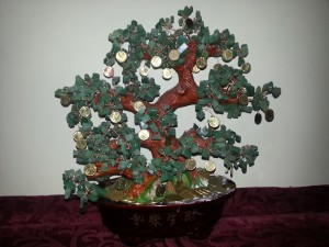 Postal: El árbol de la prosperidad