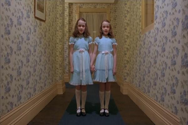 """Las niñas gemelas de """"El Resplandor"""""""