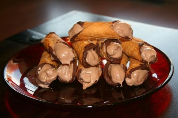 Cannoli de Nutella