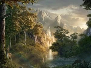 Postal: Un mundo de fantasía