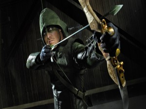Postal: Arrow, el justiciero