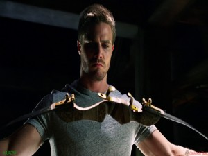 Oliver Queen es Arrow
