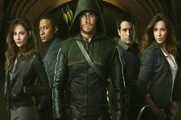"Personajes de la serie de TV ""Arrow"""