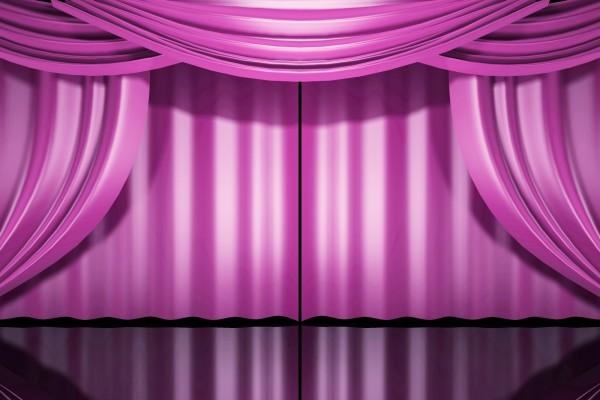 Escenario rosa