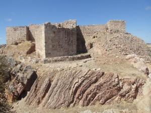 Postal: Castillo de Alarcos, Ciudad Real (España)