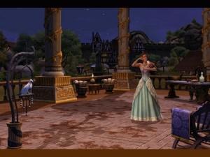 Postal: Los Sims Medieval