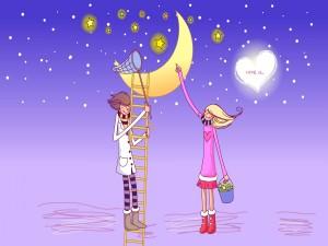 Cazando estrellas por amor