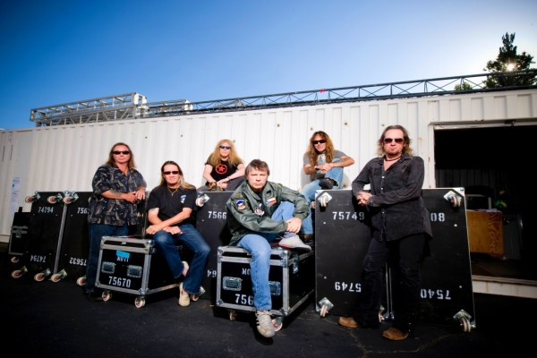 Los chicos de Iron Maiden