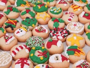 Postal: Galletas navideñas