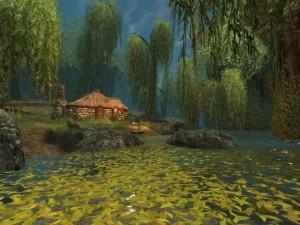 Cabaña a orillas del río