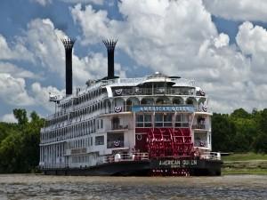 """El barco de vapor """"American Queen"""""""