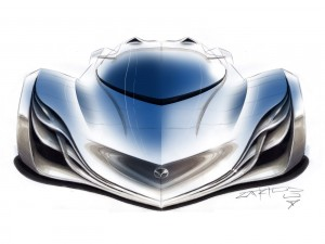 Postal: Mazda Furai Concept