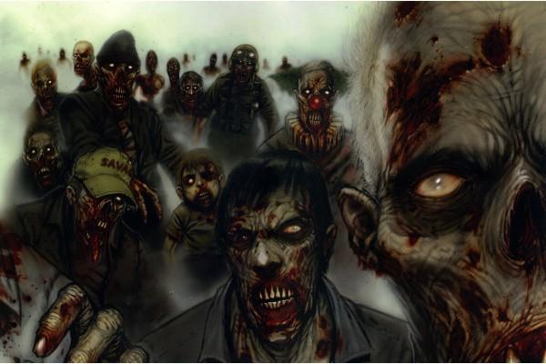 Manada de zombis