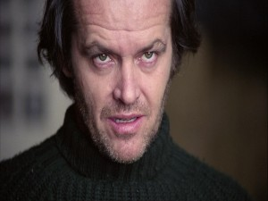 "Postal: Jack Torrance, personaje de ""El Resplandor"""