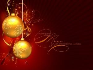 Postal: Navidad mágica