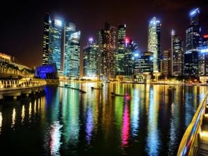 La noche de Singapur