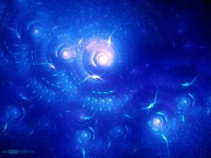 Postal: Océano fractal