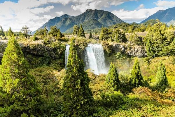 Cascada Truful-Truful (Chile)
