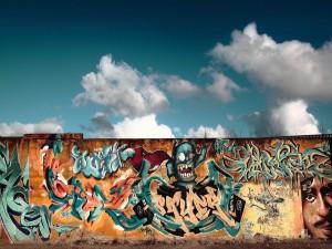 Postal: Graffiti urbano