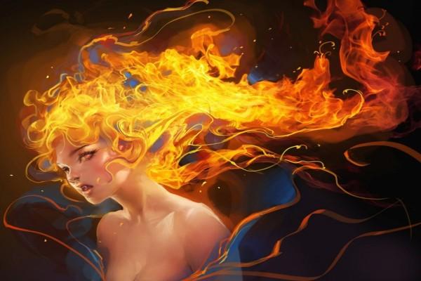 Vampiresa de fuego