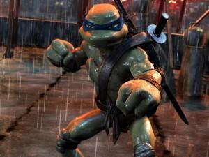 """Leonardo en """"Las tortugas ninja"""""""