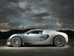 Vista lateral del Bugatti Veyron