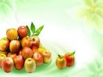 Relucientes manzanas