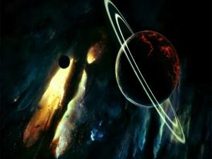 Postal: El fin de Saturno