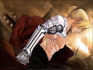 Postal: Edward Elric (Fullmetal Alchemist)