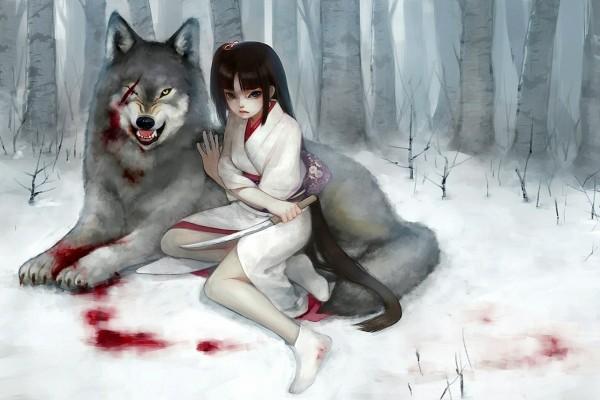 Con mi lobo