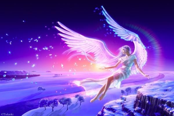 Ángel volando