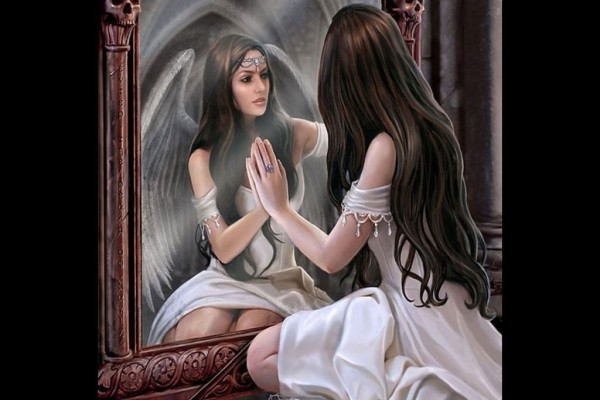 El reflejo de un ángel