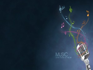 Postal: La música es la poesía del aire