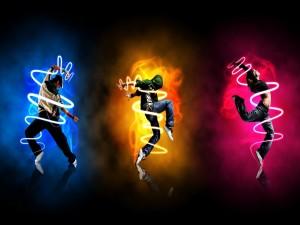 Postal: Bailando