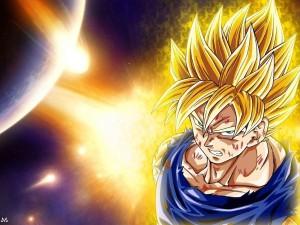 Postal: Goku SSJ