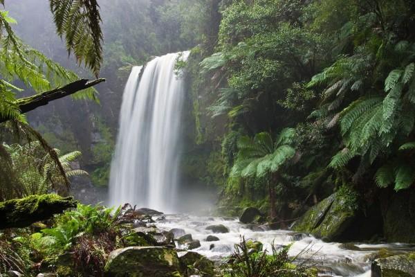 Catarata Hopetoun en Victoria (Australia)