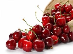 Cuenco con cerezas